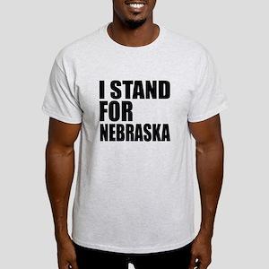 I Stand For Nebraska Light T-Shirt