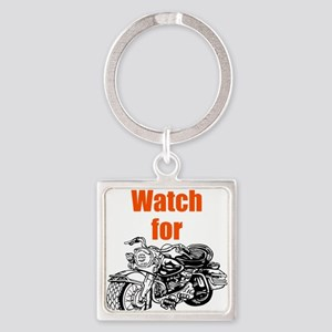 Watch for Motorcycles Keychains