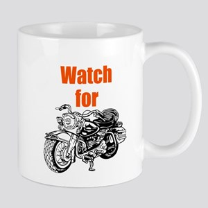 Watch for Motorcycles Mugs