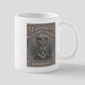 Rhodesia KGV Admirals Pound Mug