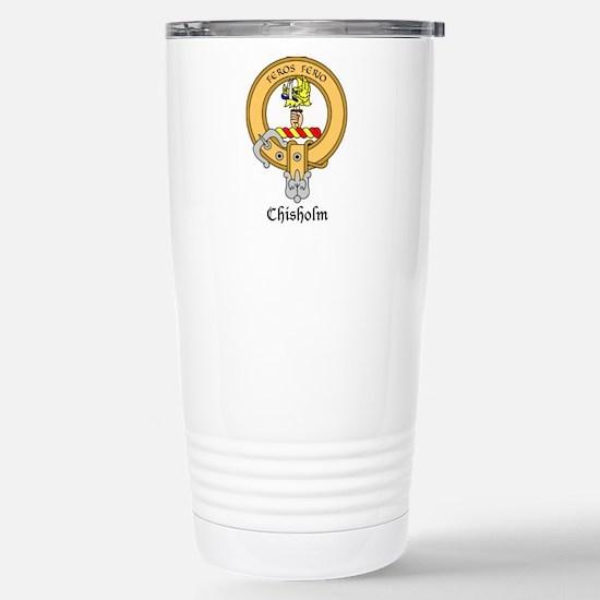 Chisholm Stainless Steel Travel Mug