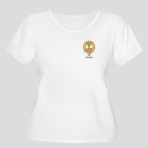 Chisholm Women's Plus Size Scoop Neck T-Shirt