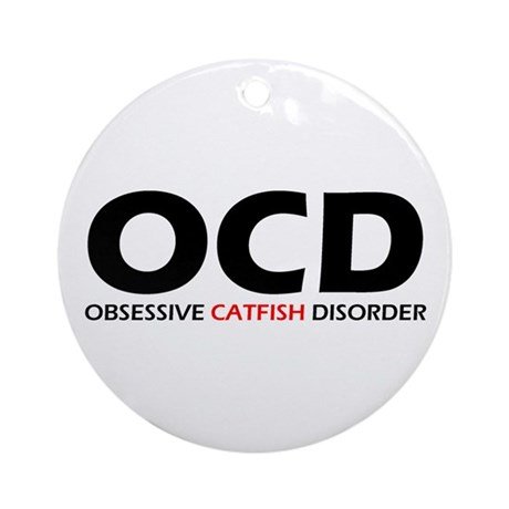 Obsessive Catfish Disorder Christmas Ornament