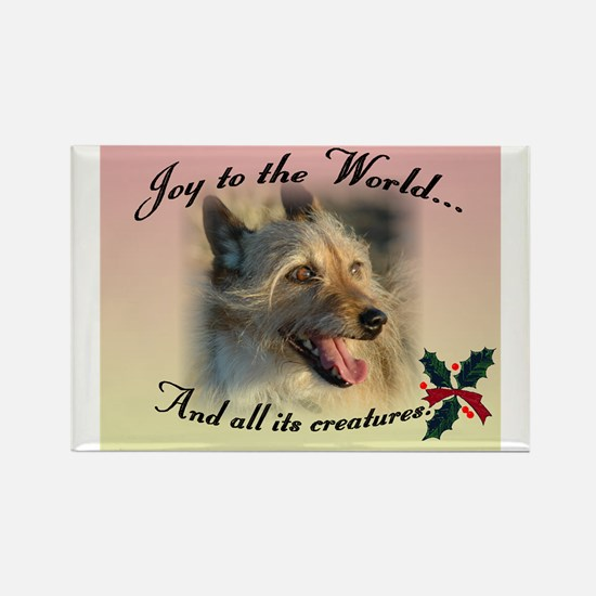 Joy to the World... Rectangle Magnet