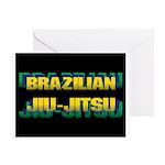 Brazilian Jiu Jitsu Greeting Cards