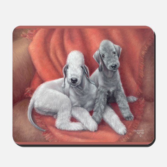 Bedlington Puppy Love Mousepad