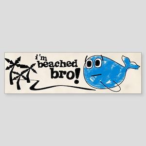 Beached Bro Bumper Sticker