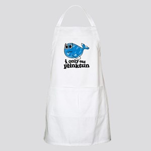 I Only Eat Plink-Tun BBQ Apron