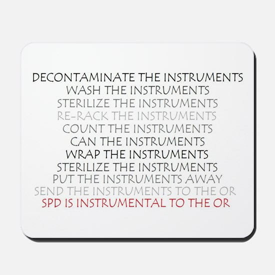 Instruments - SPD Mousepad