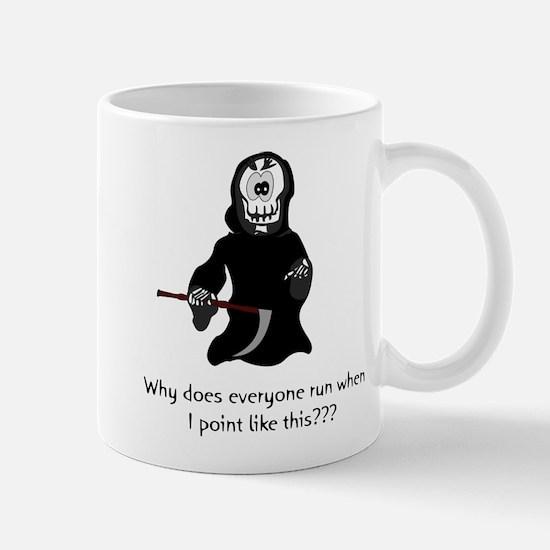 Funny Grim Reaper Mug