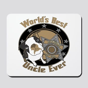 Top Dog Uncle Mousepad