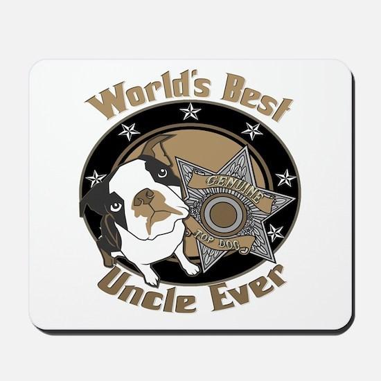 Top Dog Uncle Mousepad