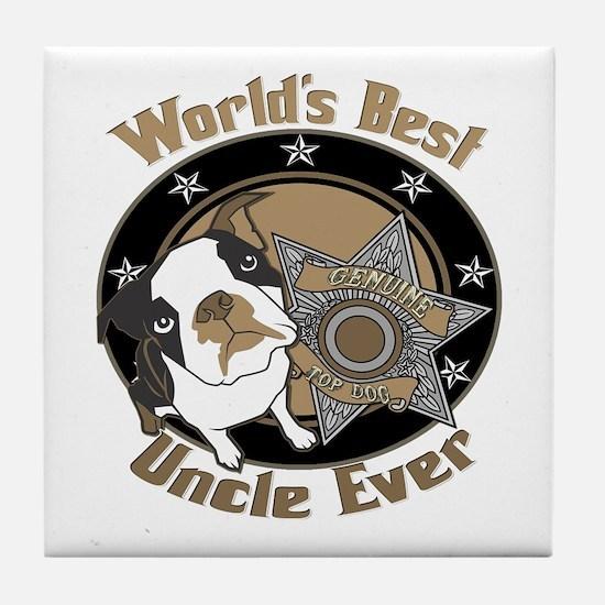 Top Dog Uncle Tile Coaster
