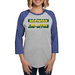 Brazilian Jiu Jitsu Womens Baseball Tee