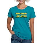 Brazilian Jiu Jitsu Womens Tri-blend T-Shirt