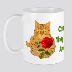 Cats Humor Us Mug