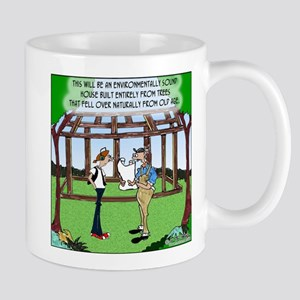 Environmentally Sound House Mug