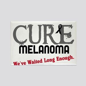 CURE Melanoma 3 Rectangle Magnet