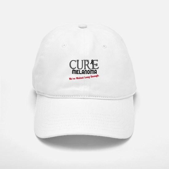 CURE Melanoma 3 Baseball Baseball Cap