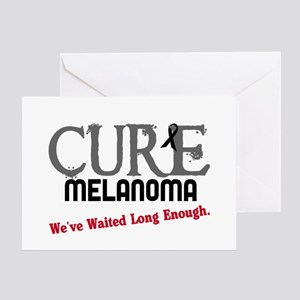 CURE Melanoma 3 Greeting Card