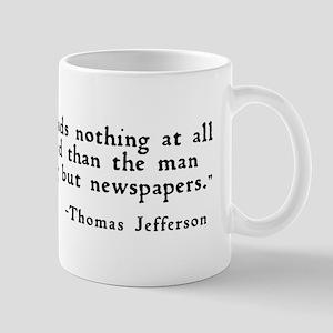 """The man who reads ..."" Mug"