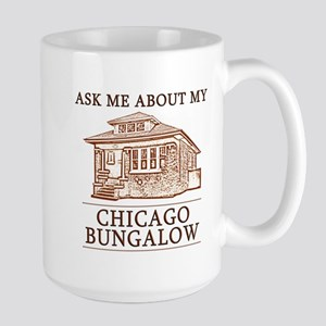 Chicago Bungalow Large Mug