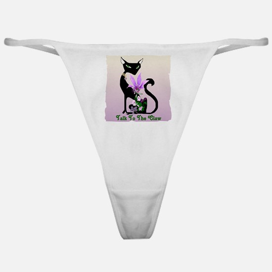 Cat Claw Classic Thong