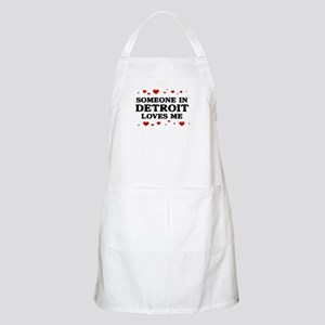 Loves Me in Detroit BBQ Apron