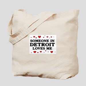Loves Me in Detroit Tote Bag