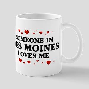 Loves Me in Des Moines Mug