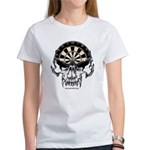 Darts Skull Women's T-Shirt