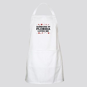 Loves Me in Florida BBQ Apron