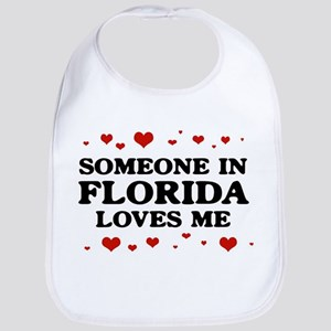 Loves Me in Florida Bib