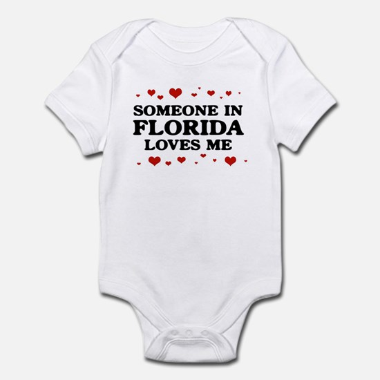 Loves Me in Florida Infant Bodysuit