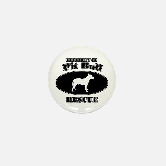 Property of Pit Bull Rescue Mini Button