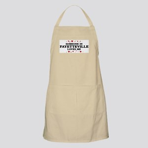 Loves Me in Fayetteville BBQ Apron
