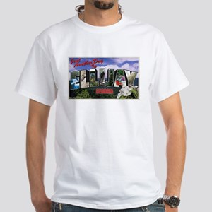 Ellijay, GA Postcard White T-Shirt