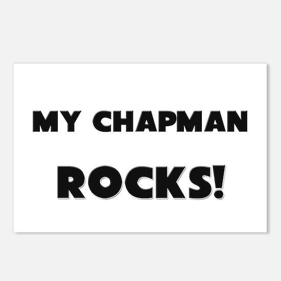 MY Chapman ROCKS! Postcards (Package of 8)