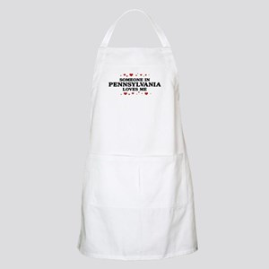 Loves Me in Pennsylvania BBQ Apron