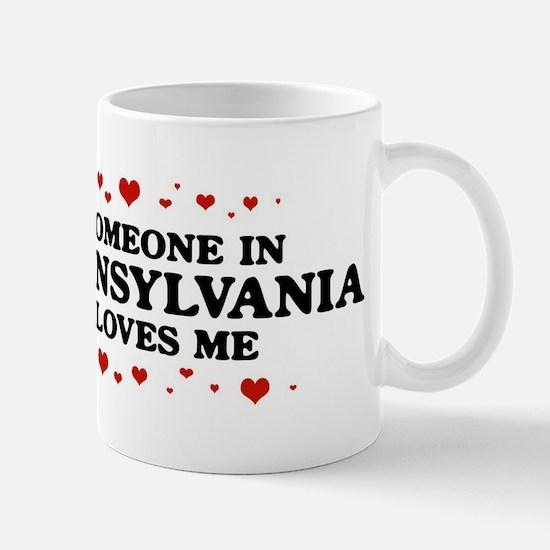 Loves Me in Pennsylvania Mug