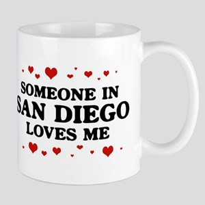 Loves Me in San Diego Mug