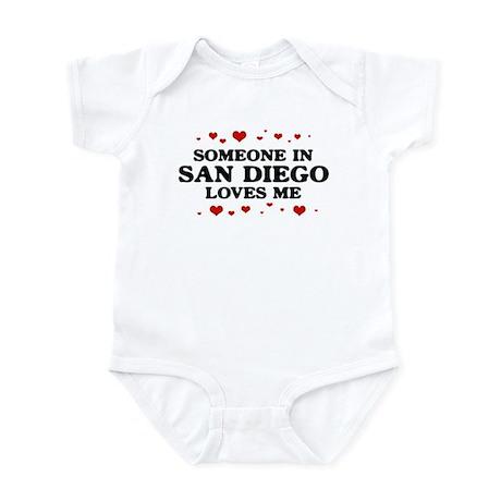 Loves Me in San Diego Infant Bodysuit