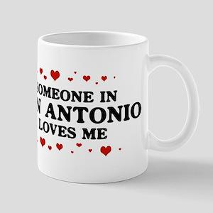 Loves Me in San Antonio Mug