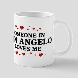 Loves Me in San Angelo Mug