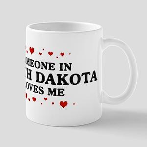 Loves Me in North Dakota Mug