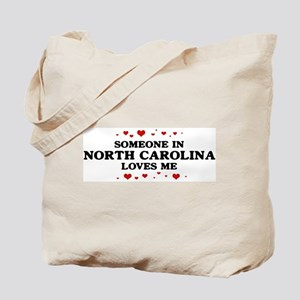 Loves Me in North Carolina Tote Bag
