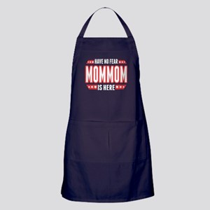 have No Fear Mommom Is Here T Shirt Apron (dark)