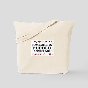 Loves Me in Pueblo Tote Bag