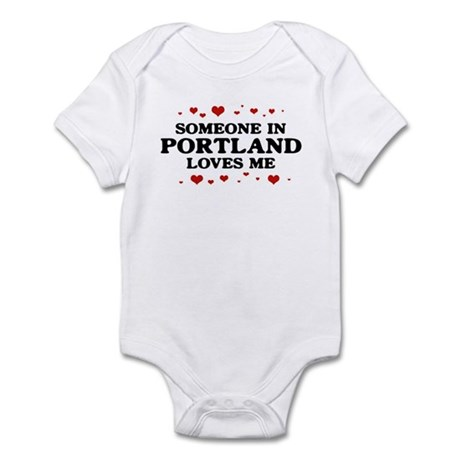Loves Me in Portland Infant Bodysuit