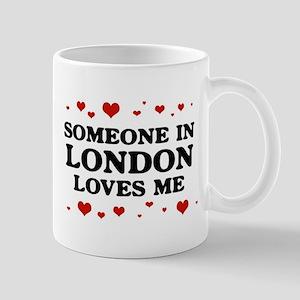 Loves Me in London Mug